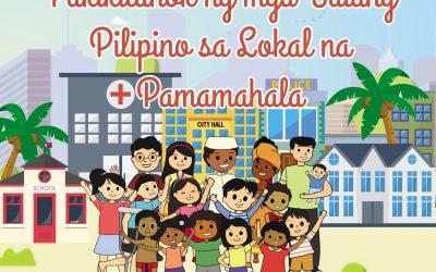 Pakikilahok ng Batang Pilipino sa Pamahalaang Lokal